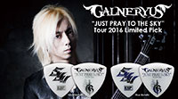 GALNERYUS(Syu) JUST PRAY TO THE SKY TOUR 2016 Limited Pick