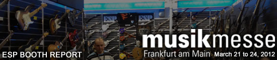 musikmesse 2012 BOOTH REPORT