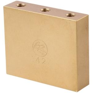 Original Fat Brass Tremolo Block -42mm-
