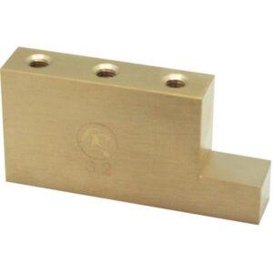 Original Fat Brass L-Shaped Tremolo Block -32mm-