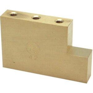 Original Fat Brass L-Shaped Tremolo Block -42mm-