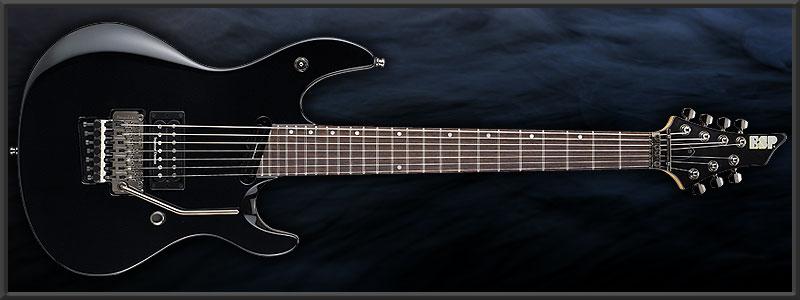 "ESP Ruiza Model ""Black Growl 7st"" Prototype"