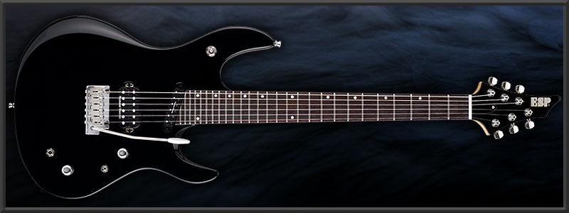 "ESP Ruiza Model ""Black Growl"" Piezo"