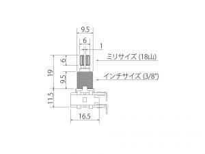 BOURNS® バランサーPot 25kΩM/N
