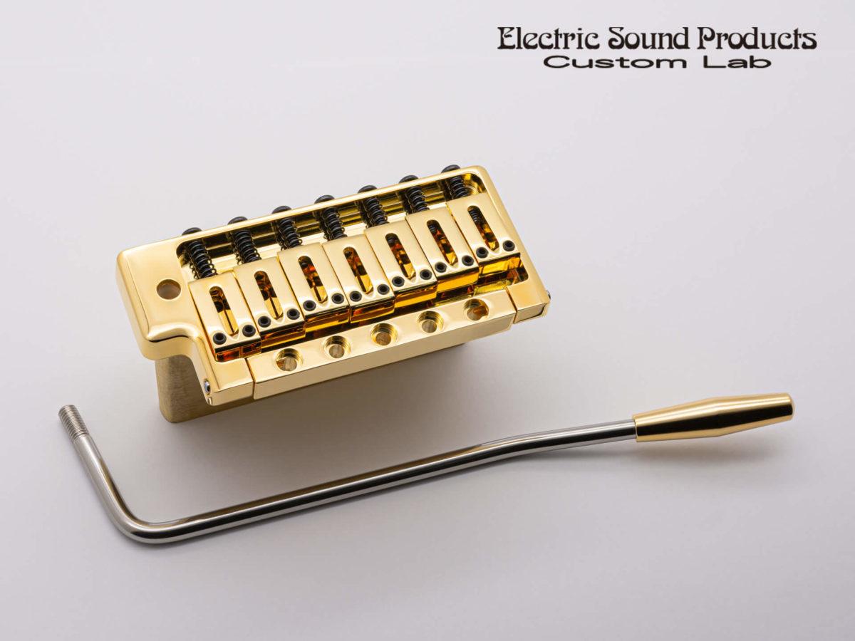 ESP FLICKER-III 7string Gold