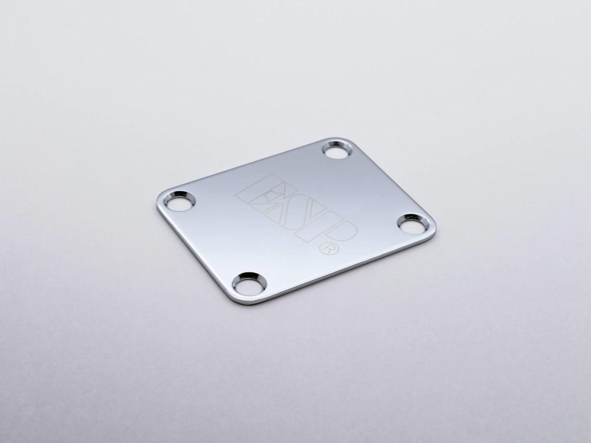 ネックセットプレート ESP Chrome
