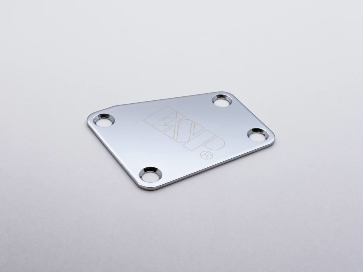 スターカット ネックセットプレート ESP Chrome