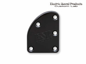 T-5 Neck Set Plate Brass Normal Black