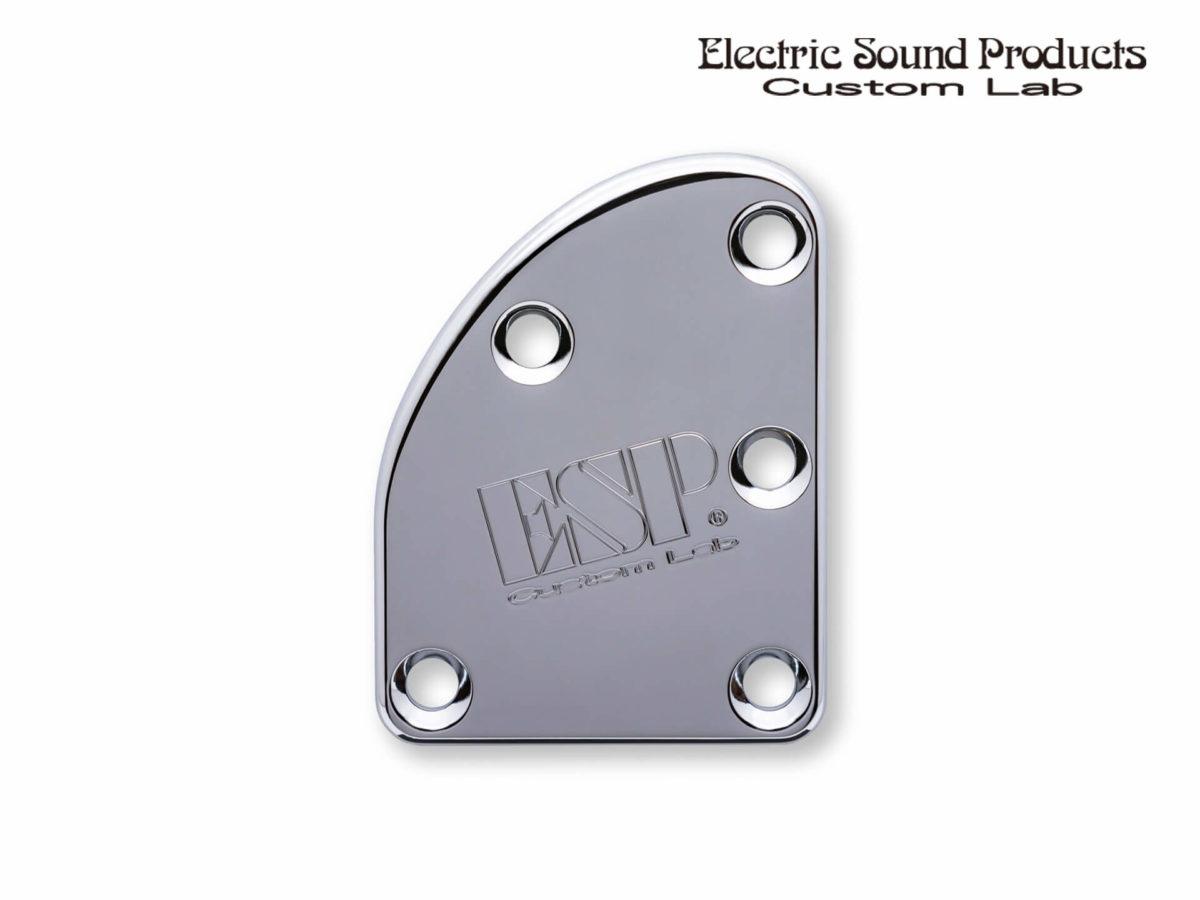T-5 Neck Set Plate Brass Normal Chrome