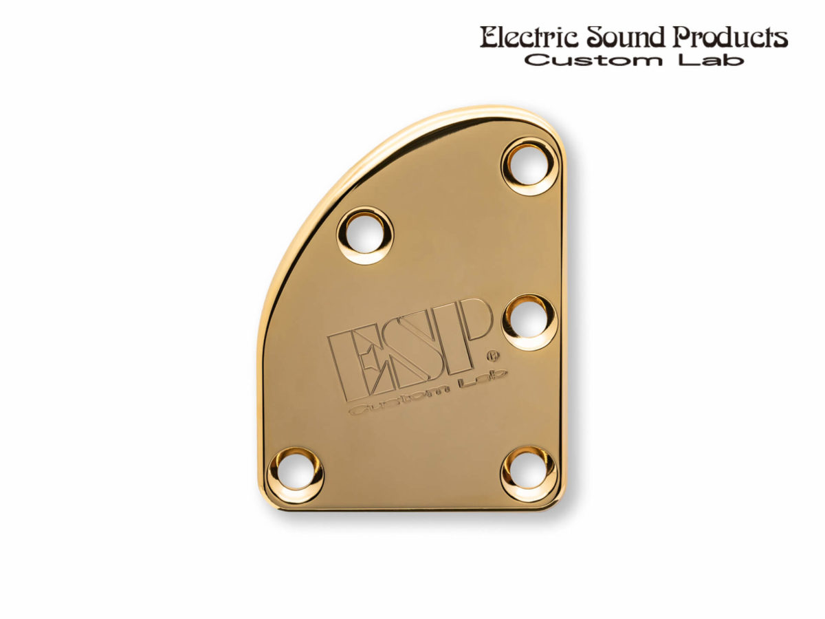 T-5 Neck Set Plate Brass Normal Gold