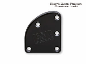 T-5 Neck Set Plate Brass Wide Black