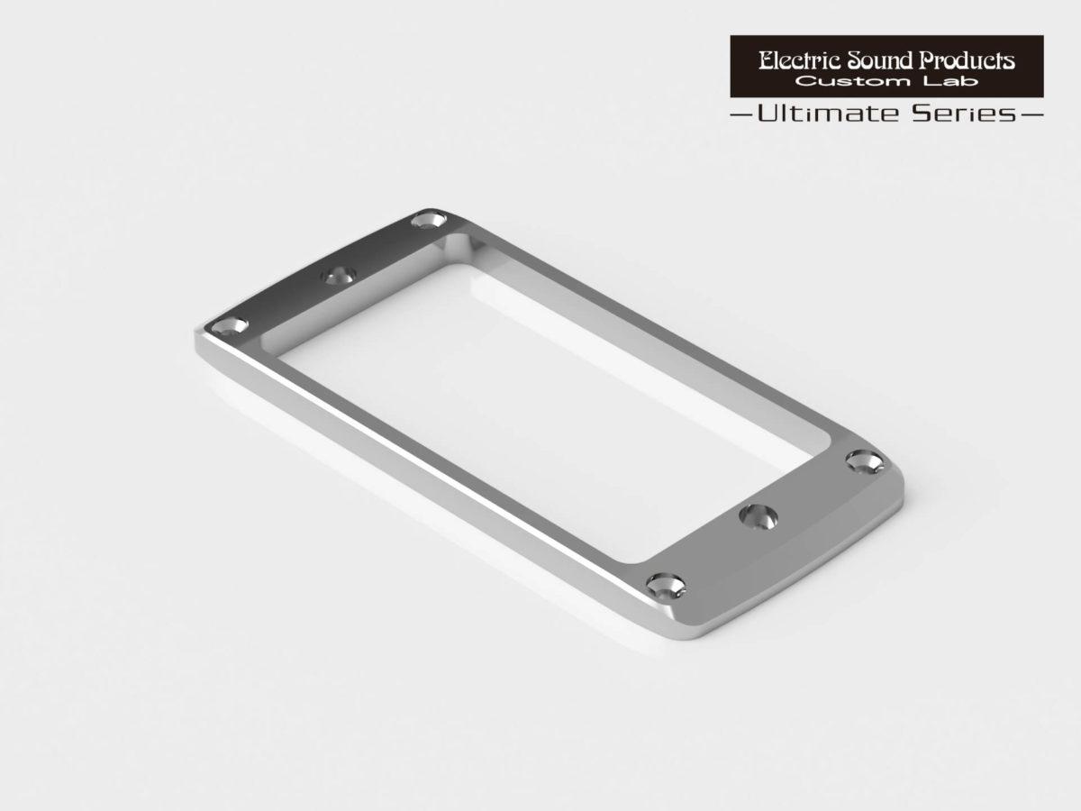 ESP Beveled PU Ring Flat-2 Brass Chrome