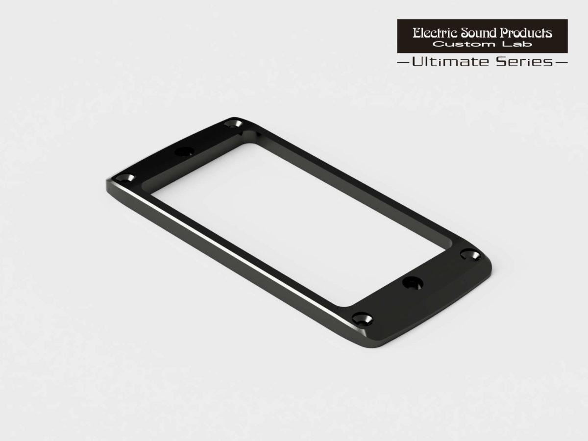 ESP Beveled PU Ring Flat-F Brass Black