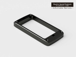 ESP Beveled PU Ring Flat-R Brass Black