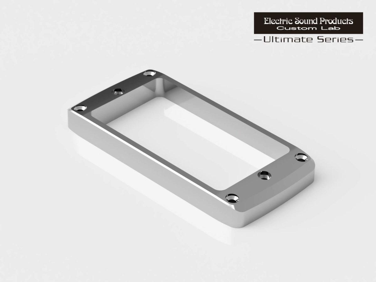 ESP Beveled PU Ring Flat-R Brass Chrome