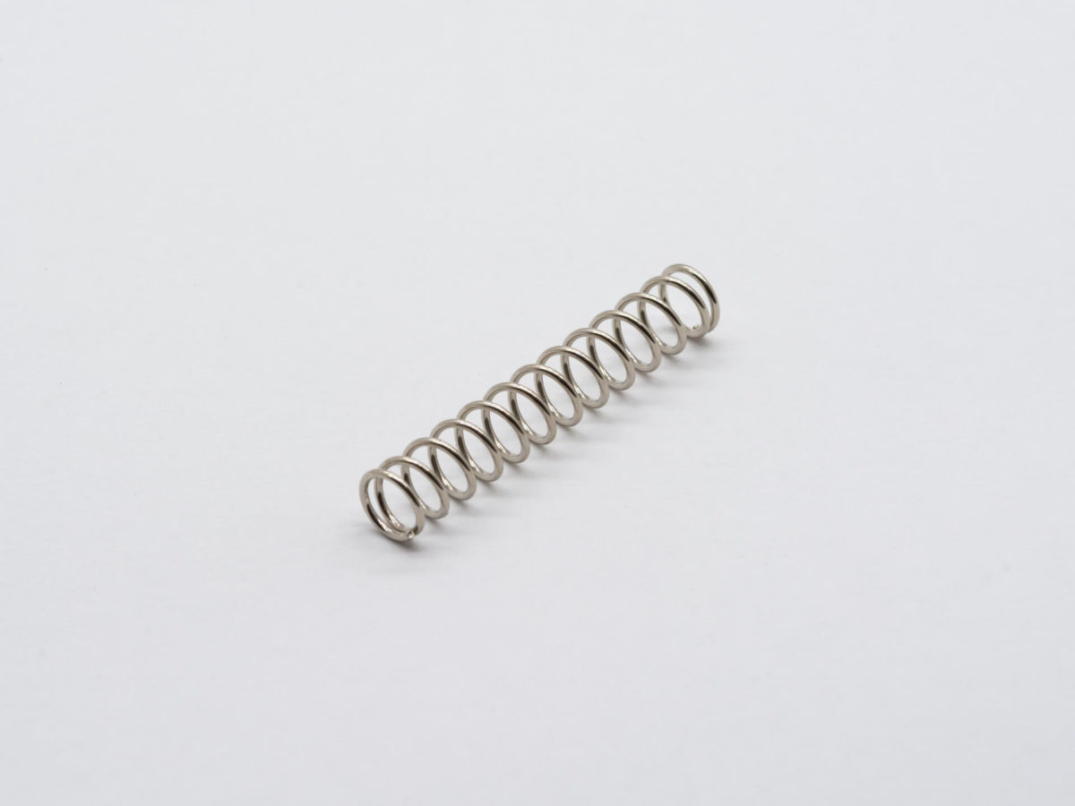 M3ビス用 スプリング SET(2) 25mm Nickel