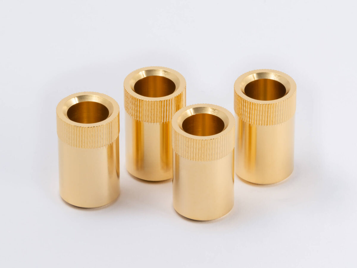 ESP BASS 弦止めブッシュ SET  Gold