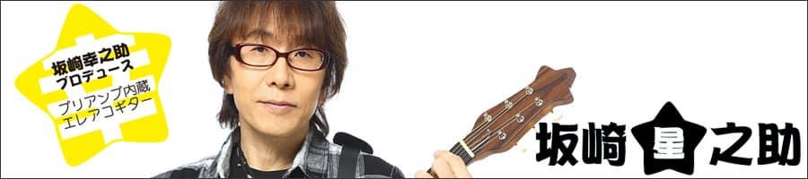 坂崎 幸之助 プロデュースのプリアンプ内蔵エレアコギター