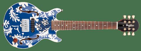 BLUE & WHITE  ALOHA