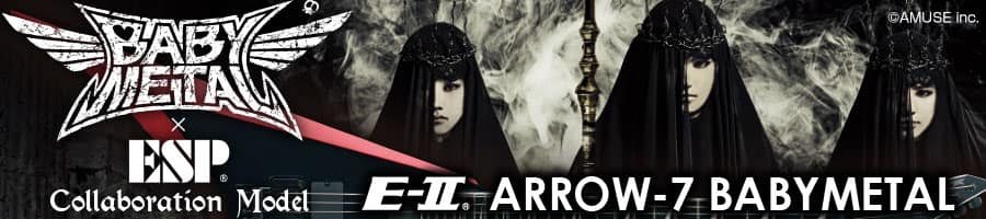ESP×BABYMETAL Collaboration Model E-II ARROW-7 BABYMETAL