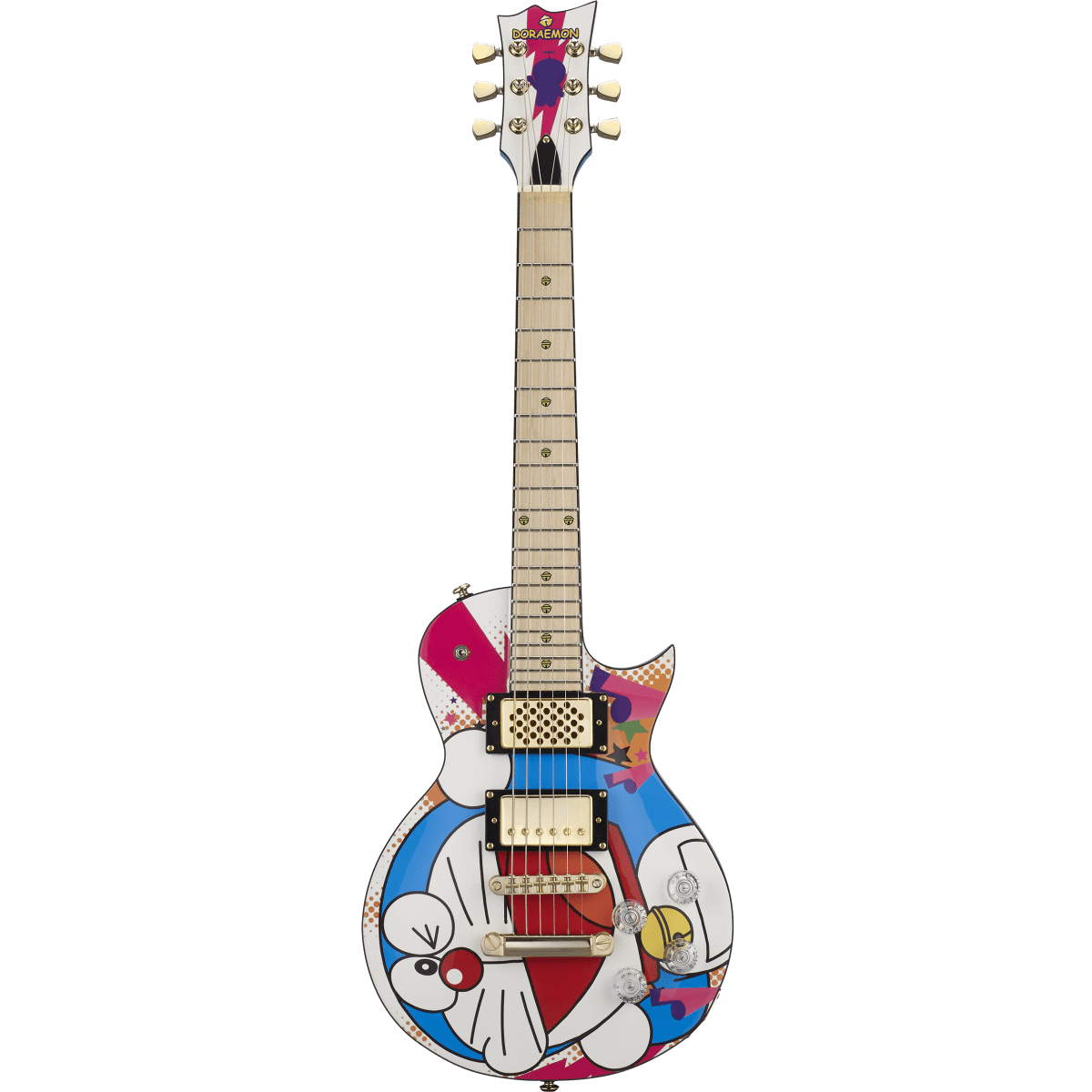 DORAEMON mini guitar [ 藤子・F・不二雄 生誕80周年 ]