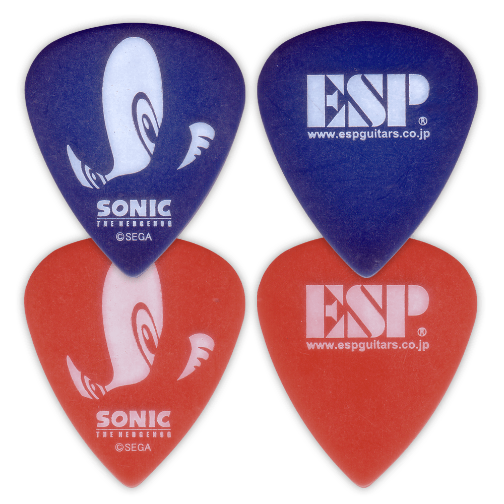 ESP×SONIC<br> SONIC THE HEDGEHOG GUITAR
