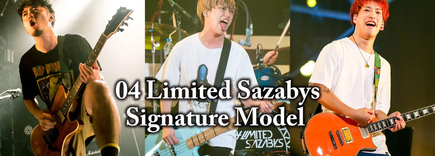 04 Limited Sazabys Signature Model