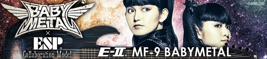 ESP×BABYMETAL Collaboration Model E-II MF-9 BABYMETAL