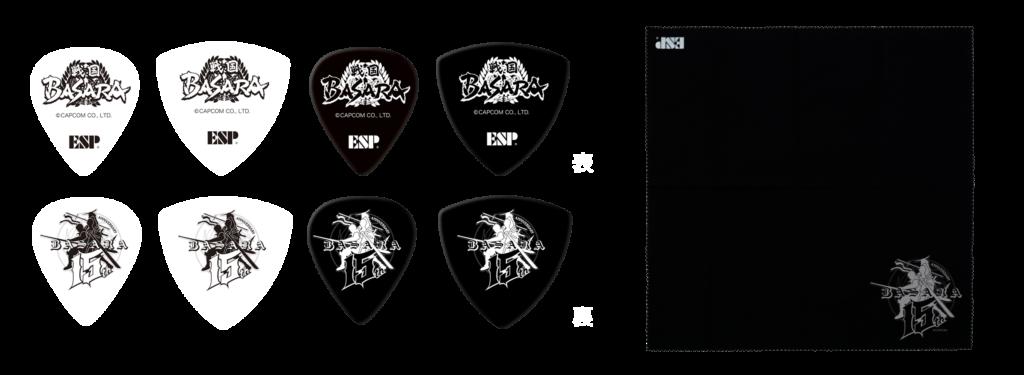 ESP×戦国BASARAコラボレーションギター付属品