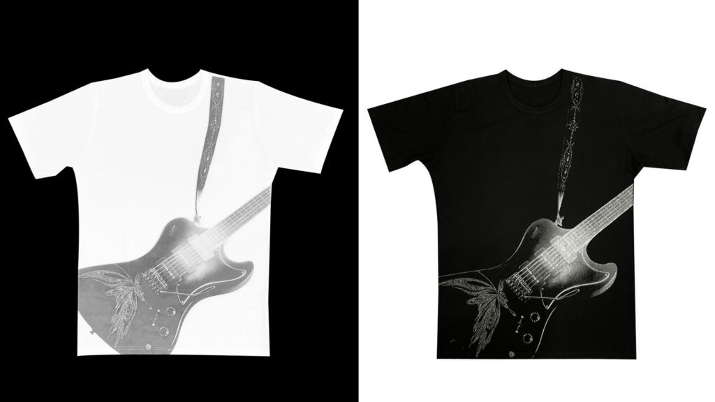 SGZ × kiryuyrik × ESP Collaboration T-shirt / Drop Shoulder T-shirt